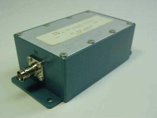 Generic Bessel Filter 5 pole (7.5 MHz)