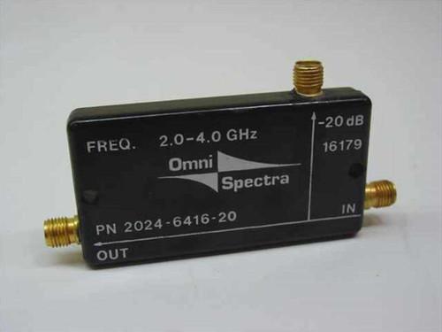 OmniSpectra Coupled Port 52.8OHM (2024-6416-20)