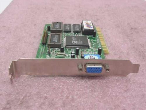 S3 Trio / Virge PCI Video Card CP765LV2