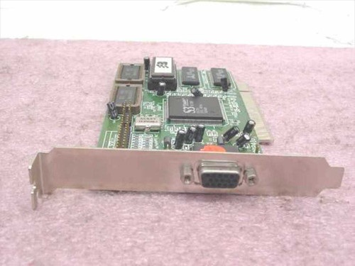 S3 PCI Video Card Trio64V 86C765 PB002410 (35-8237-21)