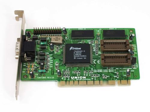 Union Trident PCI Video Card TGUI9440-3 (TD9440)