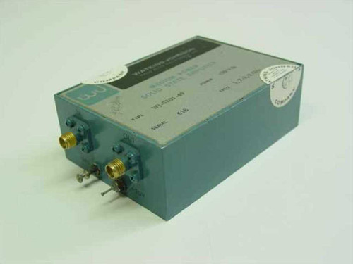 Watkins-Johnson Medium Power Solid State Amplifier  WJ-5201-49