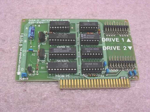 Apple Disk II Interface Card (820-0006-02)
