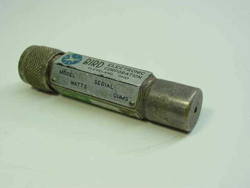 Bird Electronics 80M 5 Watt 50 Ohm Termaline Coaxial Load Resistor Terminator