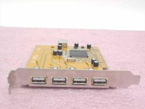 SIIG USB 2.0 PCI 5-port Adapter (TK-P5U212)