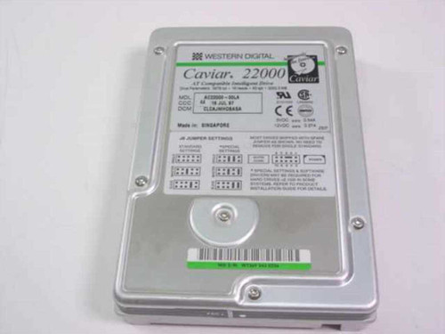 "Western Digital 2.0GB 3.5"" IDE Hard Drive (AC22000)"