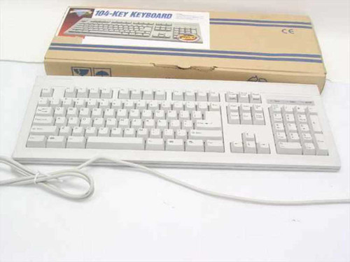 Soft Key PS/2 104-Key Keyboard Windows '95 Ready (F21J)