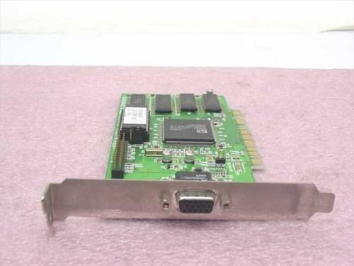 ATI 113-32103-103 Mach64 2MB PCI VGA Video Card 109-32100-20 1023210220