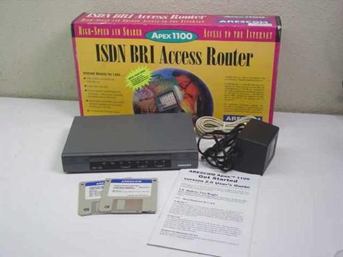 Arescom ISDN U-interface and 2 analog ports (Apex 1100-3/1)