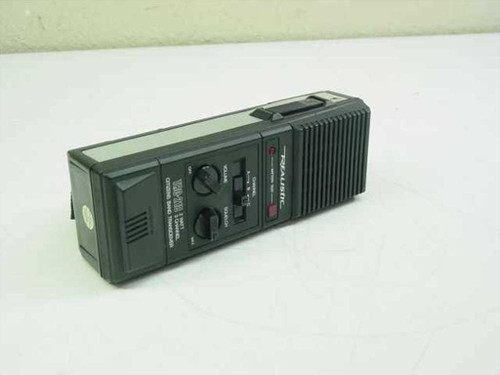 Realistic 21-1638A 3 CH Citizen Band Transceiver CB Radio