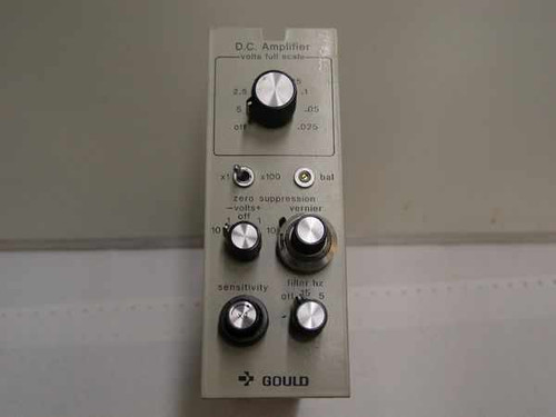 Gould DC Amplifier plug-in. 25 mV to 5 V full scale, 13-4615-105141
