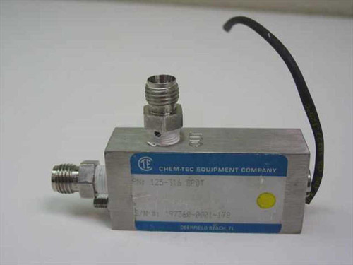 Chem-Tec Solenoid Valve Switch  125-316 SPDT