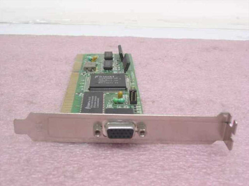 Trident JA-82370D/V3 16-Bit ISA 15-Pin Video Card