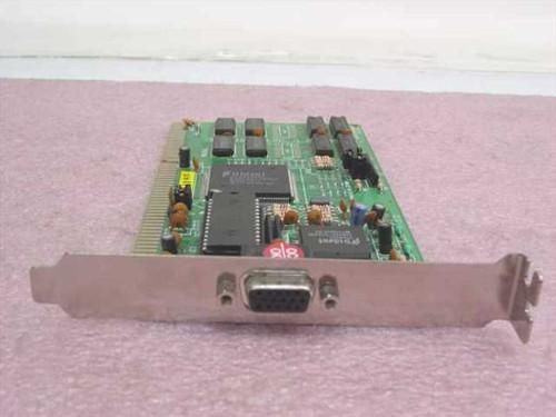 Trident VC511TM6 16-Bit ISA 15-Pin Video Card