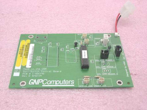 GNP PDSi Soft-Switch Control Board 1-501146 SMTK98467106B