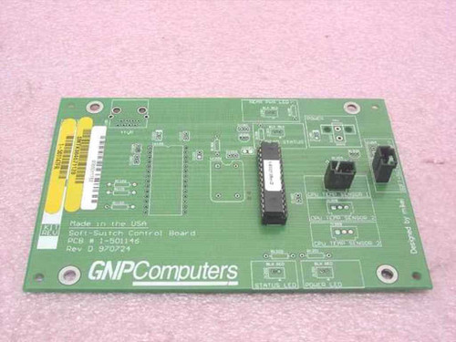 GNP PDSi Soft-Switch Control Board 1-501146 SMTK984671128