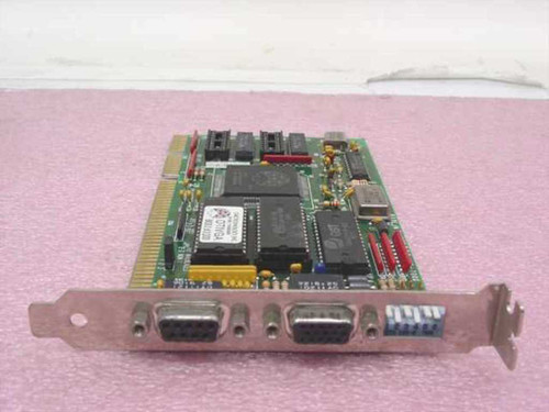 Diamond Flower Dual Video Card - 9 pin Digital 15-pin Analog (VG-7000)