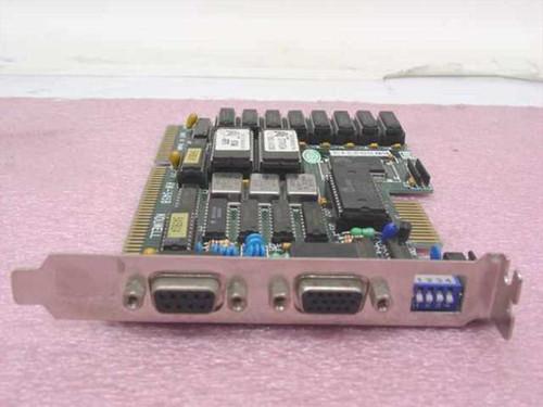 Kouwell Dual Video Card - 9 pin Digital 15-pin Analog (KW-545B)