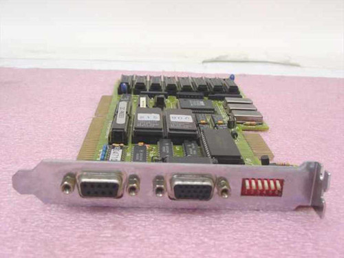 Trident Dual Video Card - 9 pin Digital 15-pin Analog 1-533-06009-201
