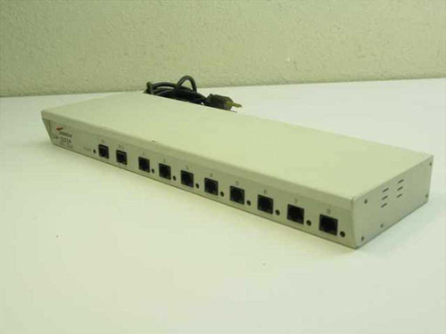 Andrew 8 Port Network Router - Vintage Style MAU9228