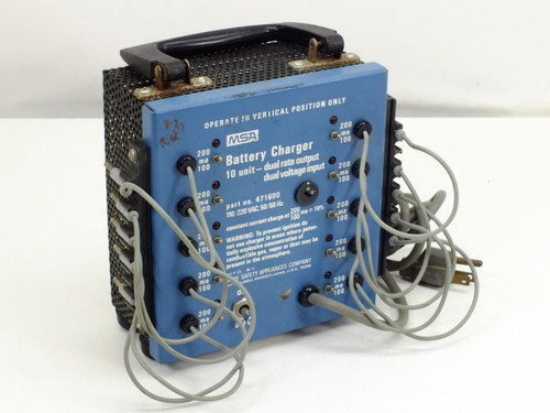 Mine Safety Appliance 471600 Battery Charger 10-unit