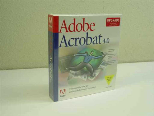 Adobe Adobe Acrobat 4.0 - Upgrade Version (2201204)