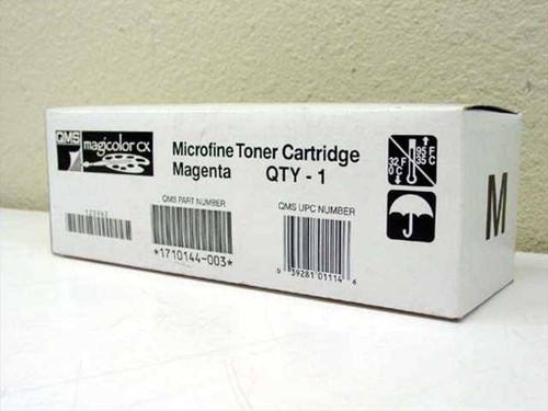 QMS Microfine Toner Cartridge - Magenta 1710144-003