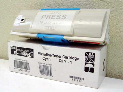 QMS 1710144-002 Microfine Toner Cartridge - Cyan