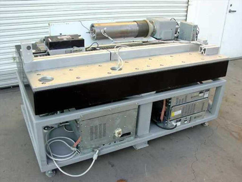 Optronics Computer Controller Laser Cylinder Marking System  Air Table