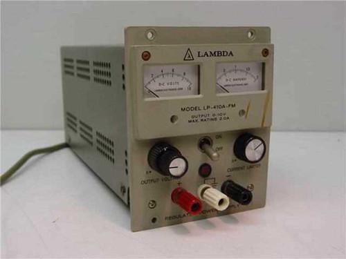 LAMBDA Regulated Power Supply 0-10V 2A (LP-410A-FM)
