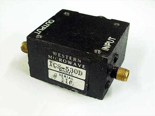 Western Microwave 2.4 GHz Isolator with SMA-F connectors (ICS-530D)