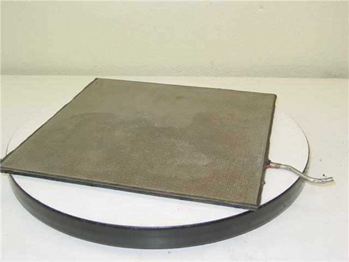 """Stainless Steel Air Circulation Plate 13-5/8"""" X 13-5/8"""" X 3/8"""""""