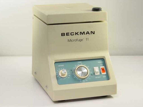 Beckman 343120 Variable Speed Tabletop Centrifuge with Rotor (Microfuge 11)