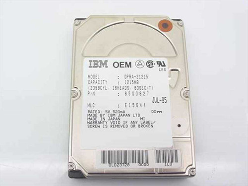 IBM 1215MB Laptop Hard Drive (85G3627)