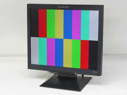 "Planar 17"" LCD monitor with 1280 x 1024 resolution and an (PL1700-BK)"