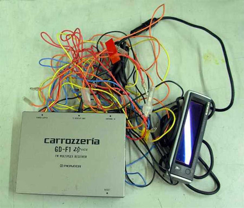 Pioneer AM/FM Car radio (GD-F1 Carrozzeria)