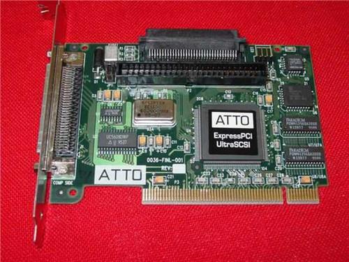 ATTO ExpressPCI Ultra SCSI 0036-FINL-001