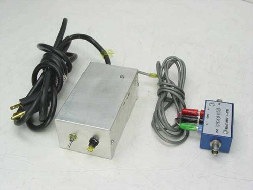 Gentec Amplifier and Power Supply (EDX-1)