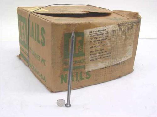 """CF&I Steel Common 60D 6"""" Nails 50 lbs Box (KZ 5315-010-4668)"""
