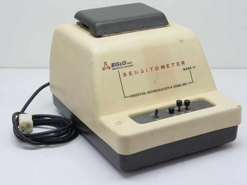 EG&G Sensitometer Edgerton Germeshausen & Grier Mark VI