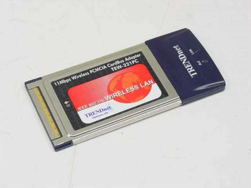 TRENDnet Wireless PCMCIA Cardbus Network Adapter (TEW-221PC)