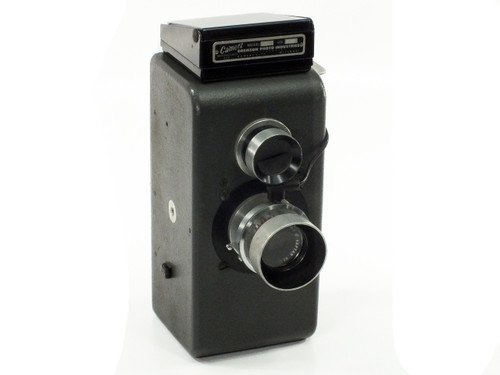 Camerz With Wollensak 127mm 4.5 Raptar Lens incomplete Model 10