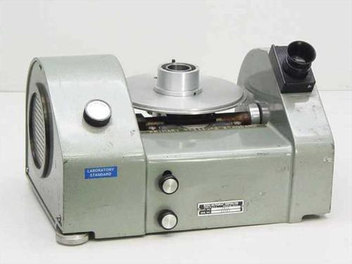 Ruska Instruments Gas Lubricated Piston Pressure Gauge (Gage-Russian) Model 2460