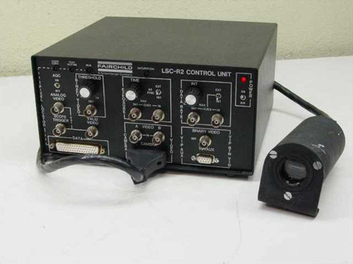 Fairchild SL140220 LSC-R2 Control Unit w/ CCD 1300R Camera - As Is
