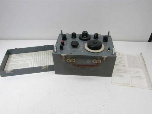 Duran Ultra D. C. Millivolt Potentiometer QD255
