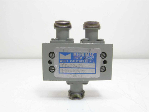 Merrimac 4MHz - 8MHz RF/Microwave Spltter (PD-22-6G)