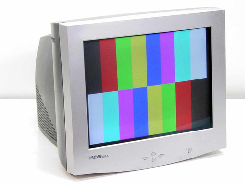 """KDS 17"""" CRT Color Monitor XF-7b Series DZ-777NS (786N)"""