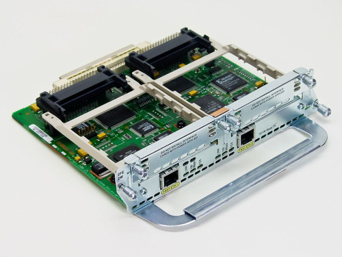 Cisco 2-port 10/100 Ethernet 2 WAN Card Slot Network Mod (NM-2FE-2W)