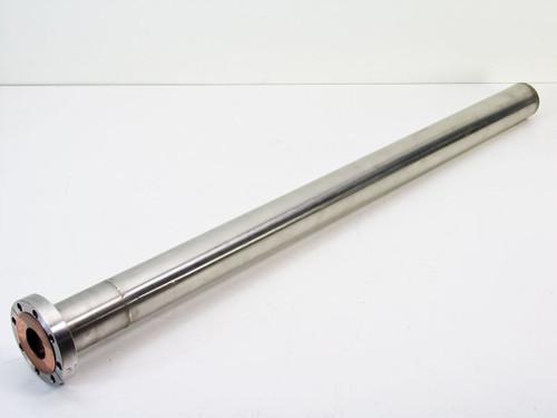 """MDC Vacuum Flange Tube 32 Inches Long O.D. 3.375"""", I.D. 1.25"""""""