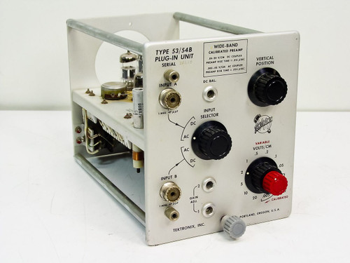 Tektronix Wide-Band (Type 53/54B)